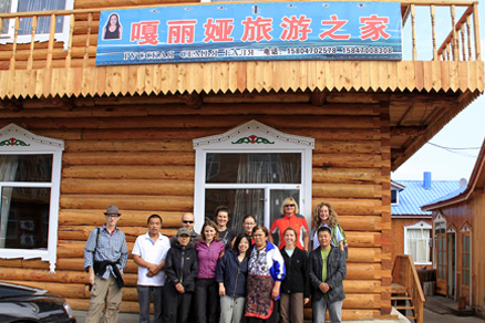 Shiwei village, Beijing Hikers Hailar, July014, 2011